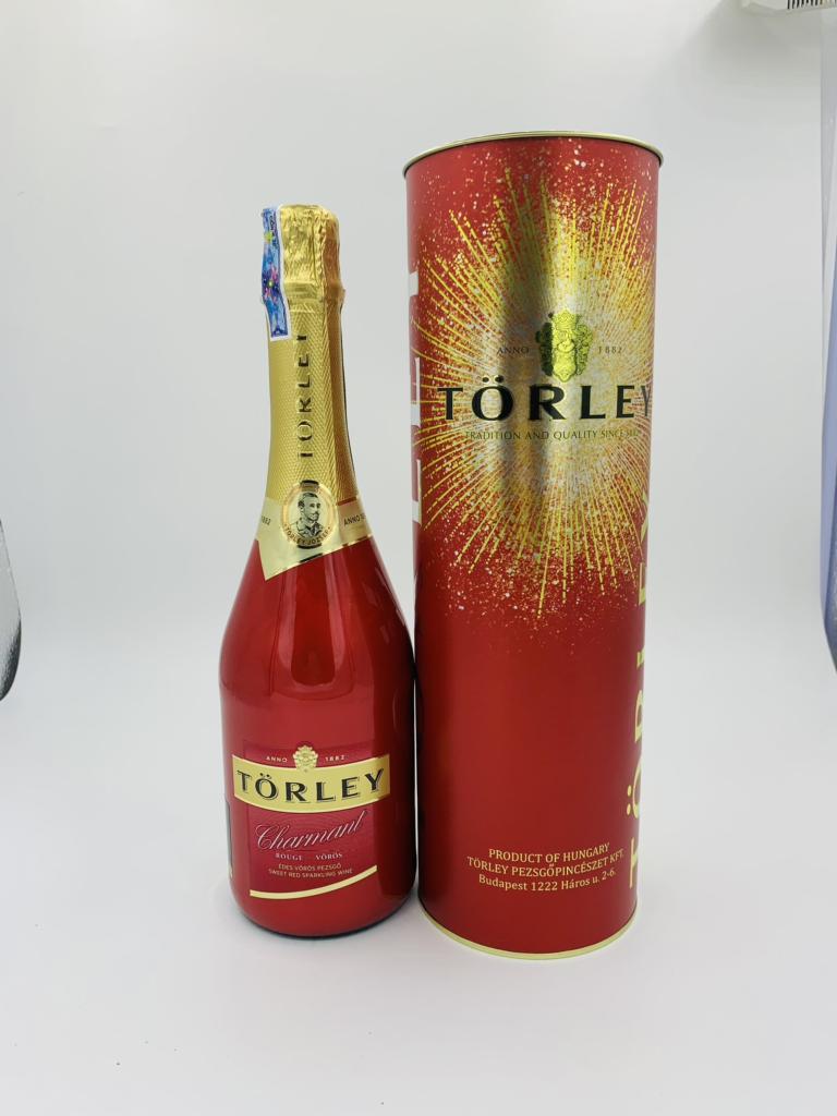Rượu vang đỏ sủi tăm Torley 1882 Hungary 750ml