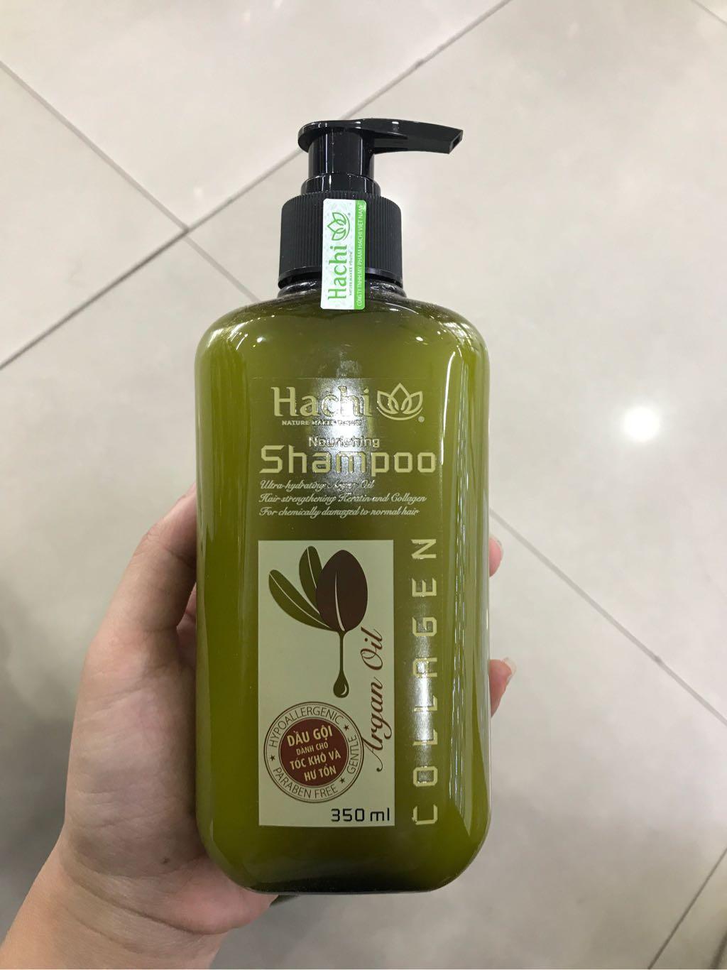 Dầu gội Hachi tóc khô và hư tổn 350ml