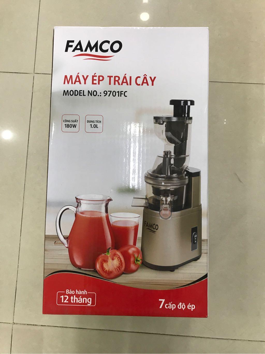 Máy ép trái cây Famco 9701FC 1L 180W