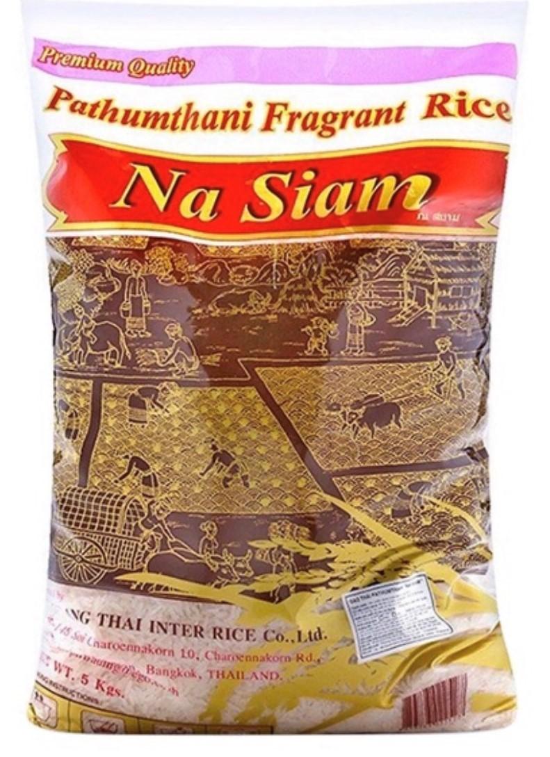 Gạo Pathumthani Thái Lan 5kg
