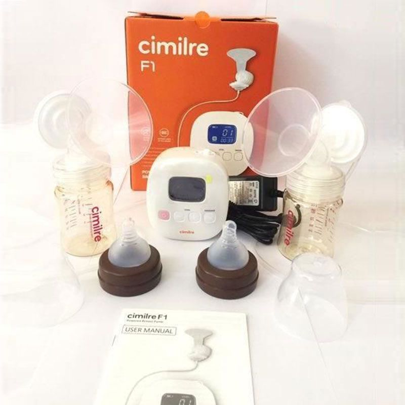 Máy hút sữa điện đôi Hàn Quốc Cimilre