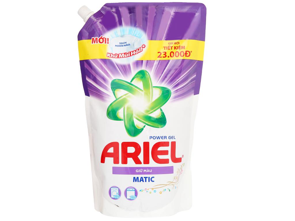 Nước giặt Ariel Giữ màu Matic 1,25kg