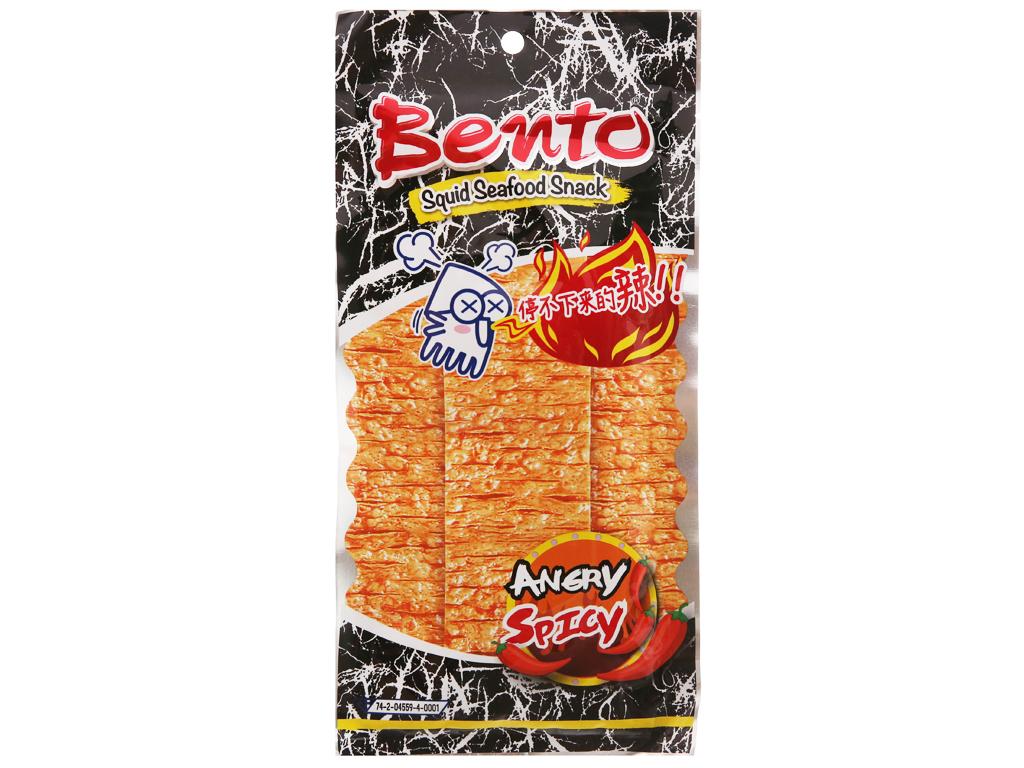 Snack mực tẩm gia vị ớt cực cay Bento Thái 20g