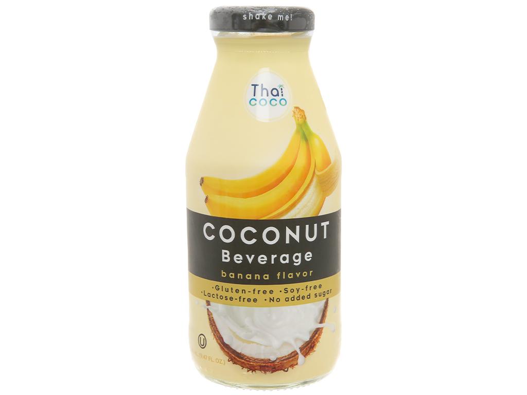 Nước sữa dừa Thai coco hương chuối 280ml