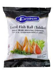 Cá viên nhân trứng cá Tobiko Fusipim 500g
