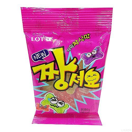Kẹo dẻo trái cây Lotte Hàn Quốc 40g