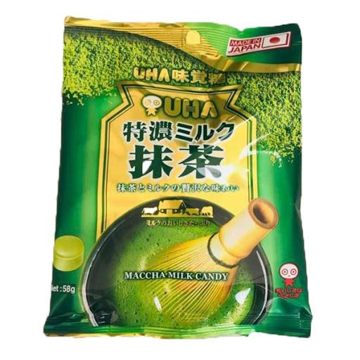 Kẹo Maccha milk candy Nhật 58g