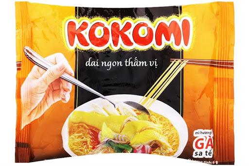 Mì Kokomi hương Gà sa tế 30 gói*65g