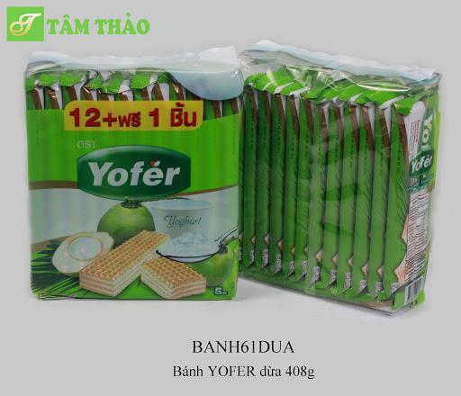 Bánh Yofer vị dừa 442g