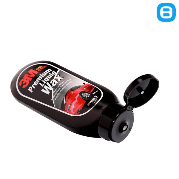 3M 05952 Premium Liquid Wax, Dung dịch lau làm bóng xe, 200ml