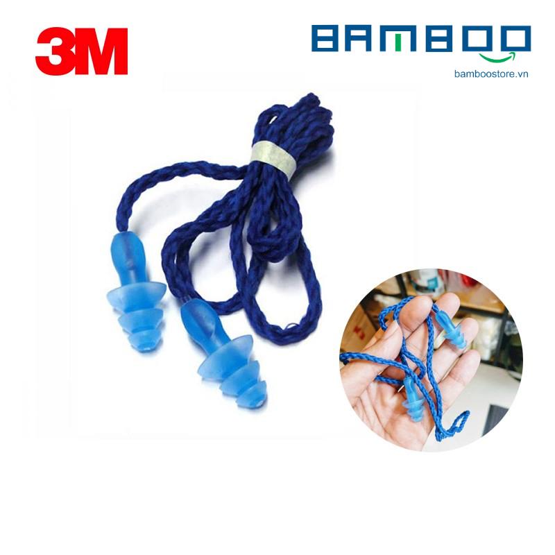 3M 1290, Nút tai chống ồn có dây, Màu xanh