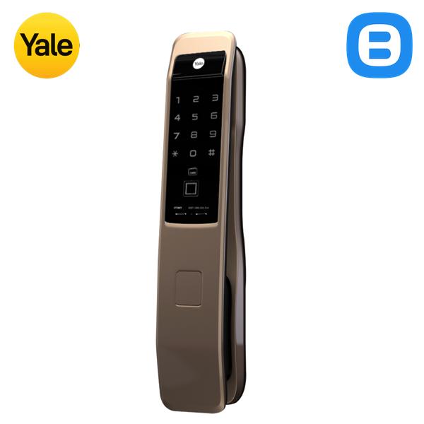 Yale YMI70, Khóa cửa điện tử thông minh cao cấp nhận dạng vân tay, Loại tay nắm đẩy-kéo