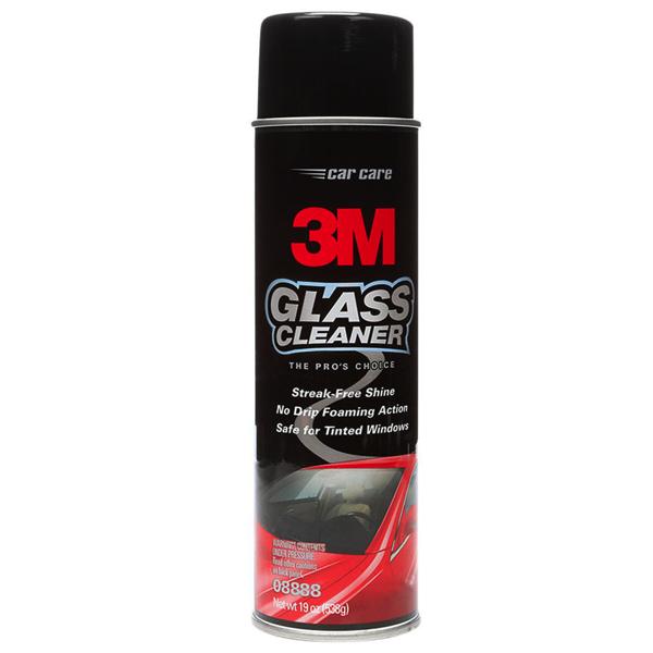 3M 08888 Glass Cleaner, Nước rửa kính và vệ sinh kính xe hơi, 500ml