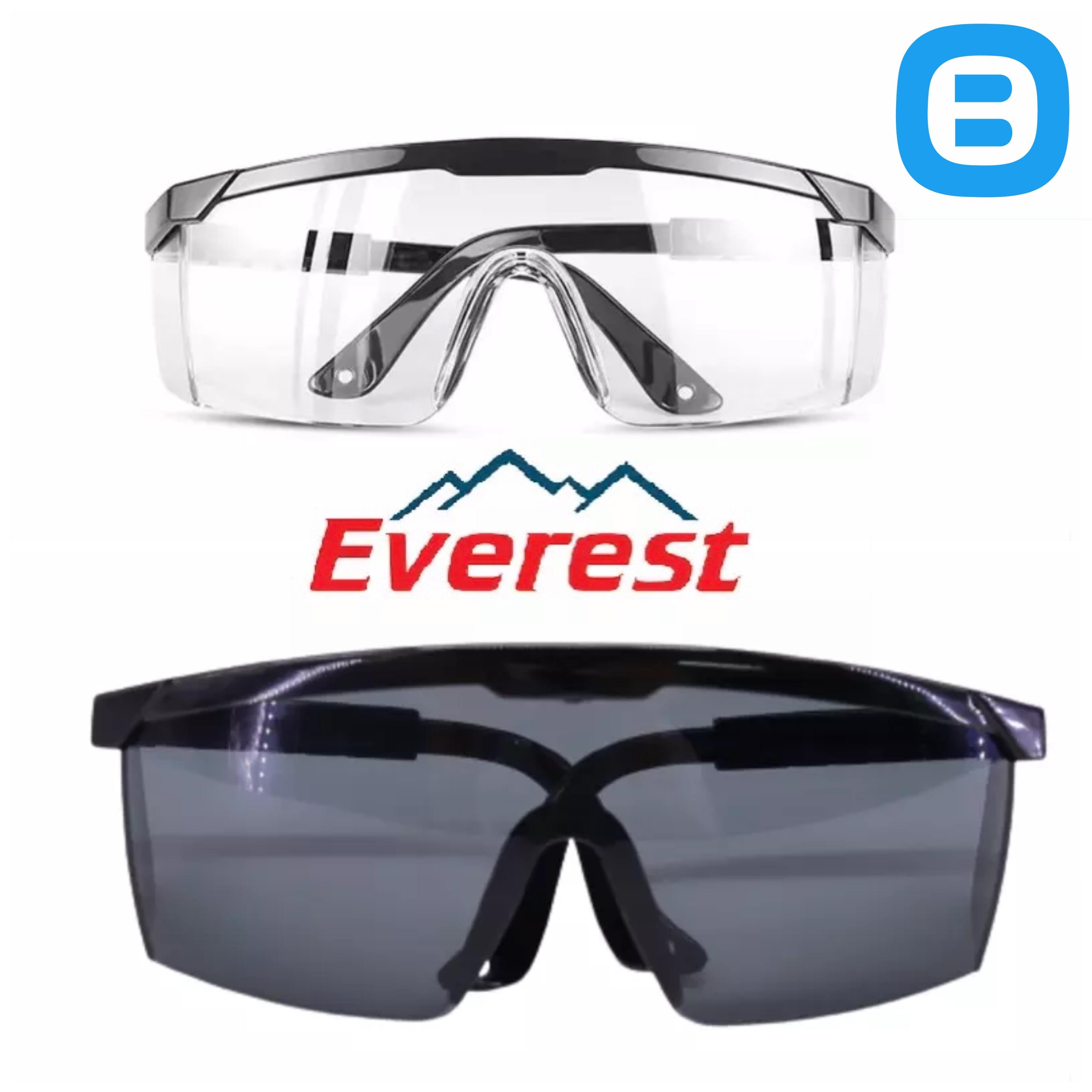 Everest EV105 Kính bảo hộ cao cấp chống bụi, chống tia UV, chống đọng sương, chống trầy xước bảo vệ mắt