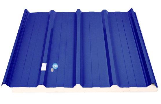 Tonmat spec lockvit tôn mát ba lớp cách nhiệt PU 5 sóng 9 sóng màu xanh ngọc xanh dương tím đỏ tươi