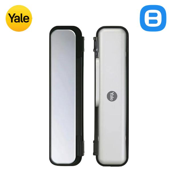 Yale YDG313, Khóa cửa điện tử thông minh cao cấp nhận dạng thẻ từ, Không tay gạt, Màu kính phản quang