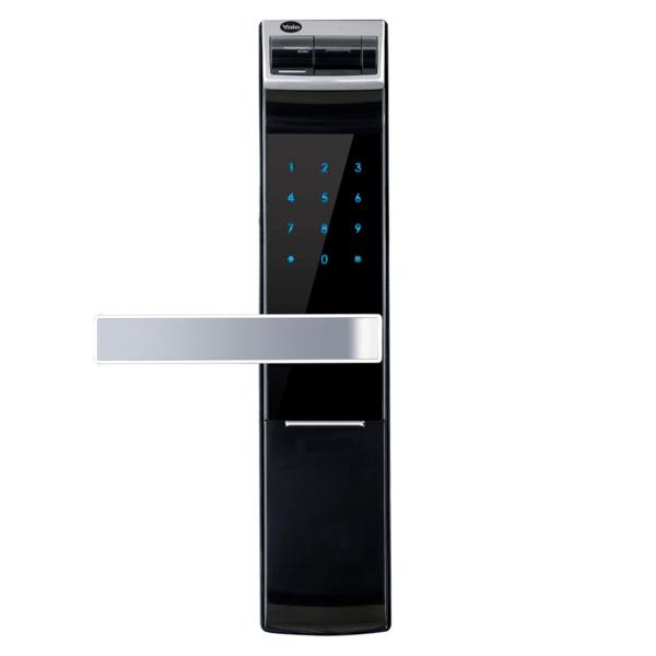 Yale YDM4109+, Khóa cửa điện tử thông minh cao cấp nhận dạng vân tay, Có tay gạt, Màu đen
