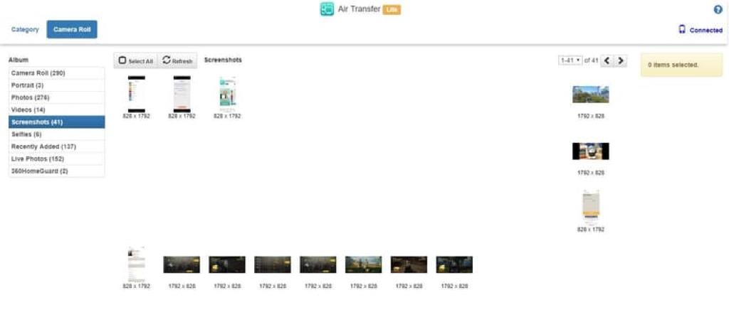 Hướng dẫn kết nối iPhone/iPad với máy tính qua Wifi bằng Air Transfer - Di Động Thông Minh