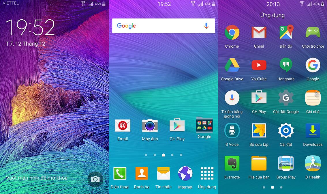 Hướng dẫn Up ROM 5.0 tiếng việt cho Samsung Galaxy J - Di Động Thông Minh