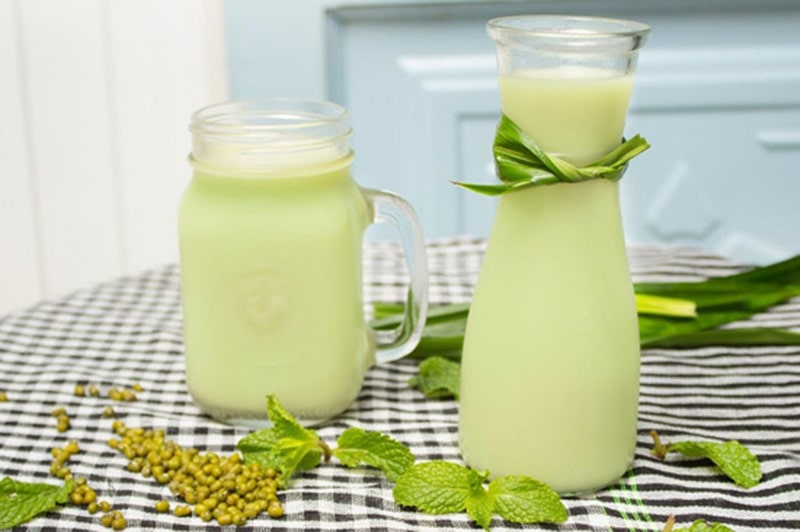 3 cách làm sữa đậu xanh thơm ngon tại nhà