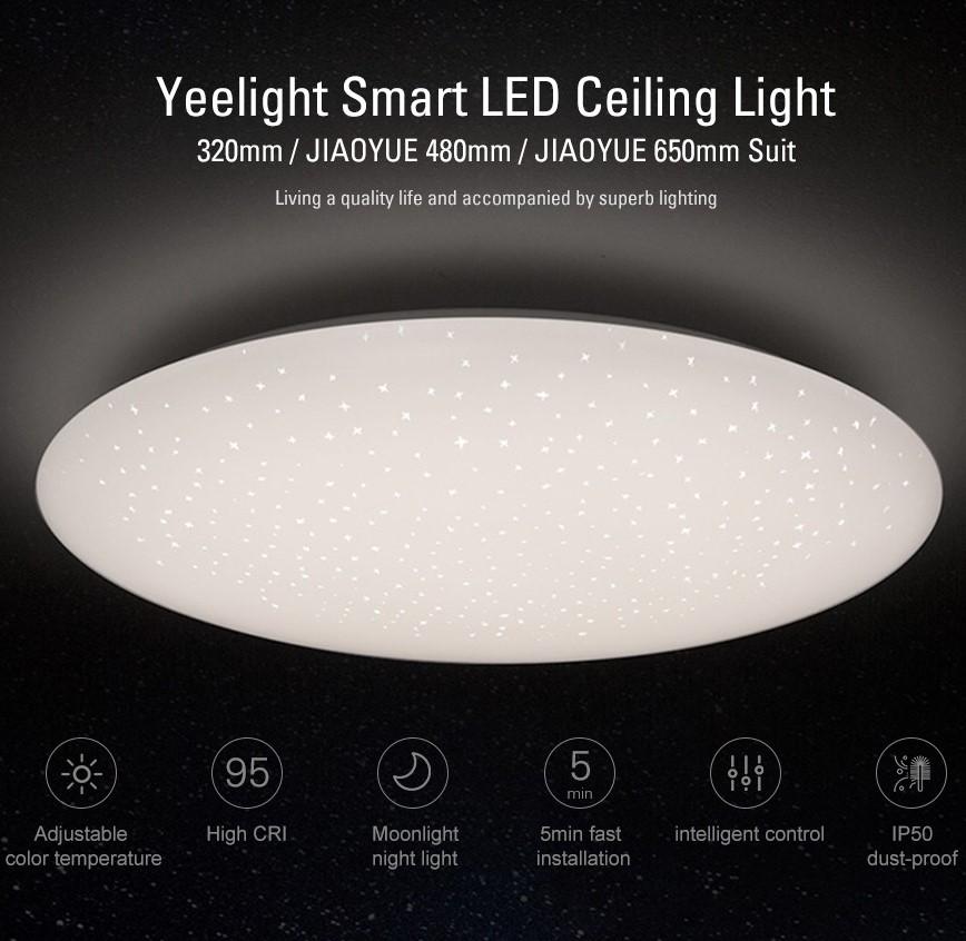 Đèn ốp trần Yeelight Galaxy 480 Trắng
