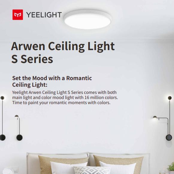 Đèn ốp trần Yeelight Arwen S - 550S