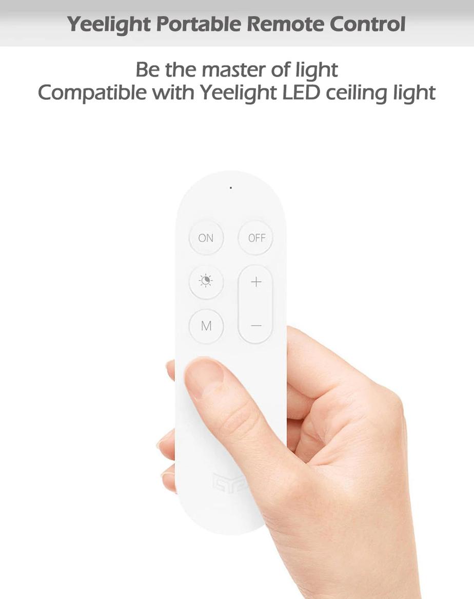 Điều khiển đèn trần từ xa Yeelight