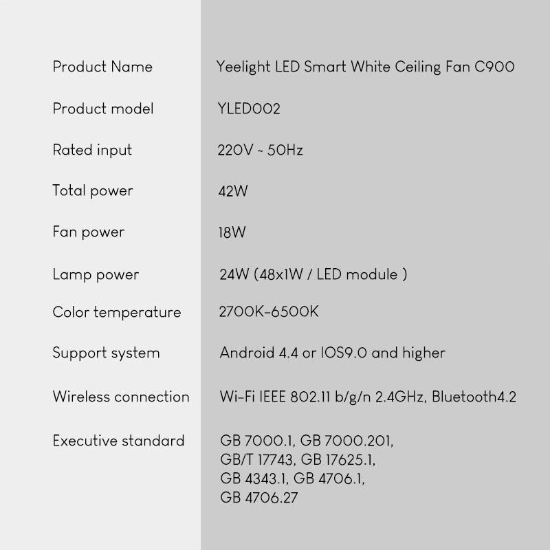 Đèn quạt vô hình C900 - Vỏ ánh sao (sản phẩm mới ra mắt 3/2021)