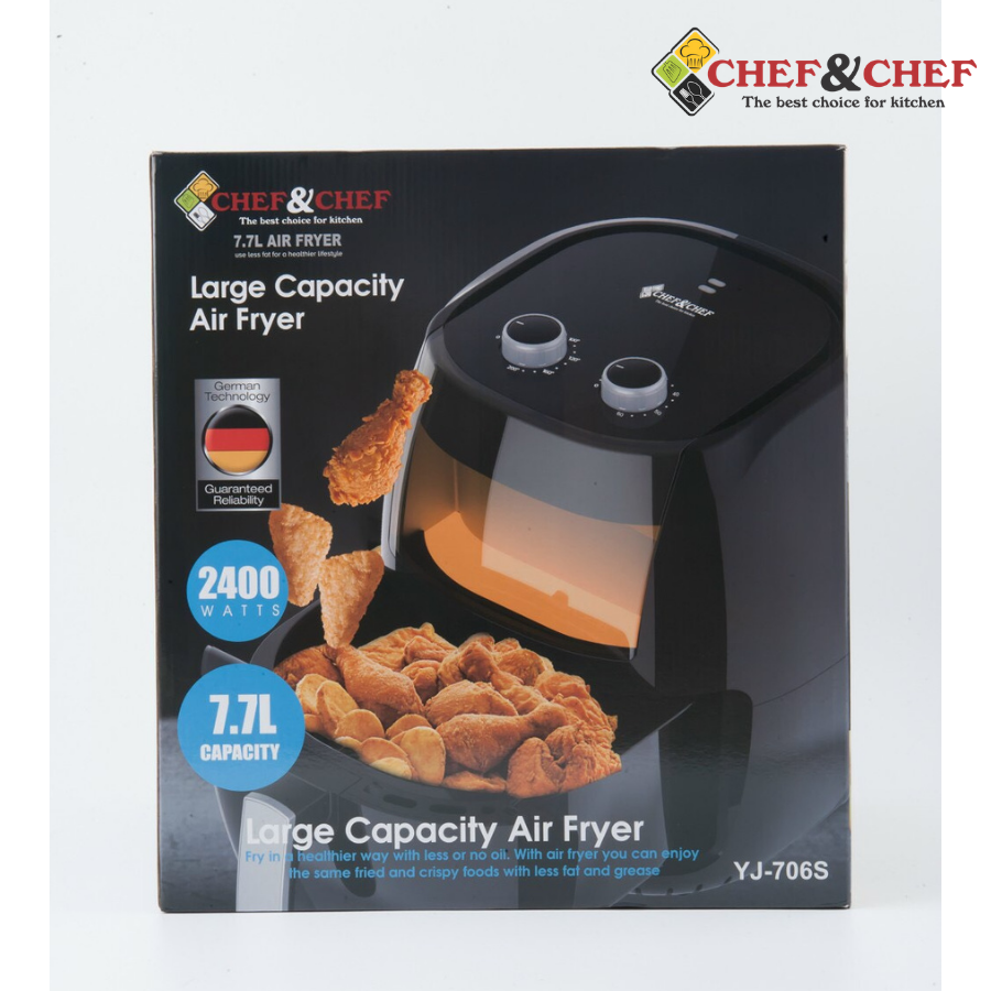 Nồi chiên không dầu Chef & Chef 7,7L YJ 706S