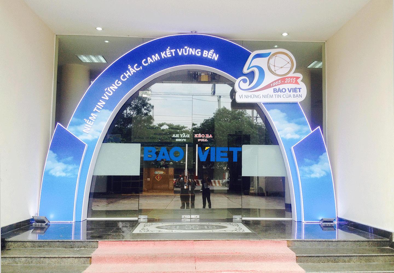 Cổng chào Bảo Việt