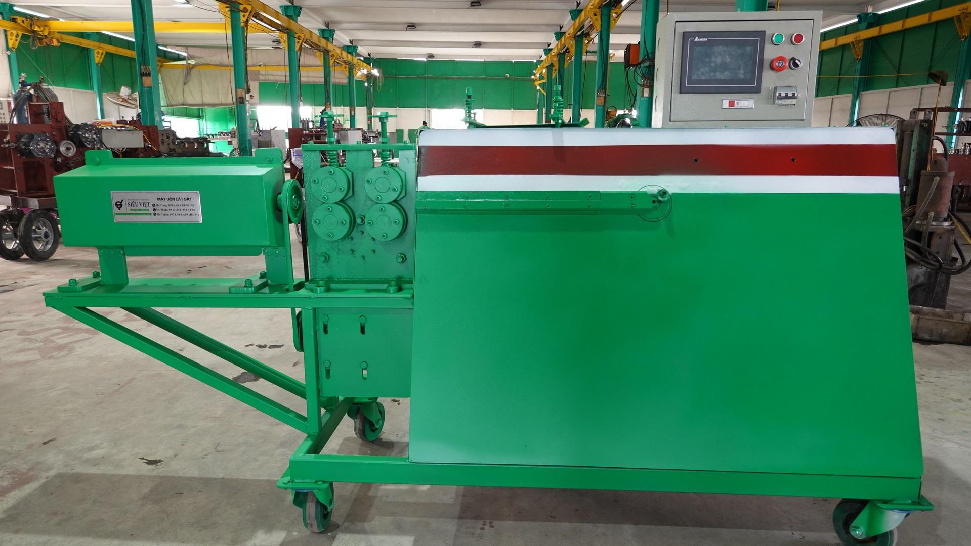 Máy uốn sắt thủ công mỹ nghệ Siêu Việt SV-MN21