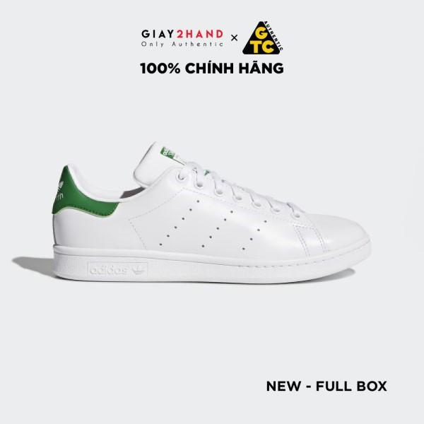 Giày Thể Thao Adidas Stan Smith Green Chính Hãng M20324-B24105