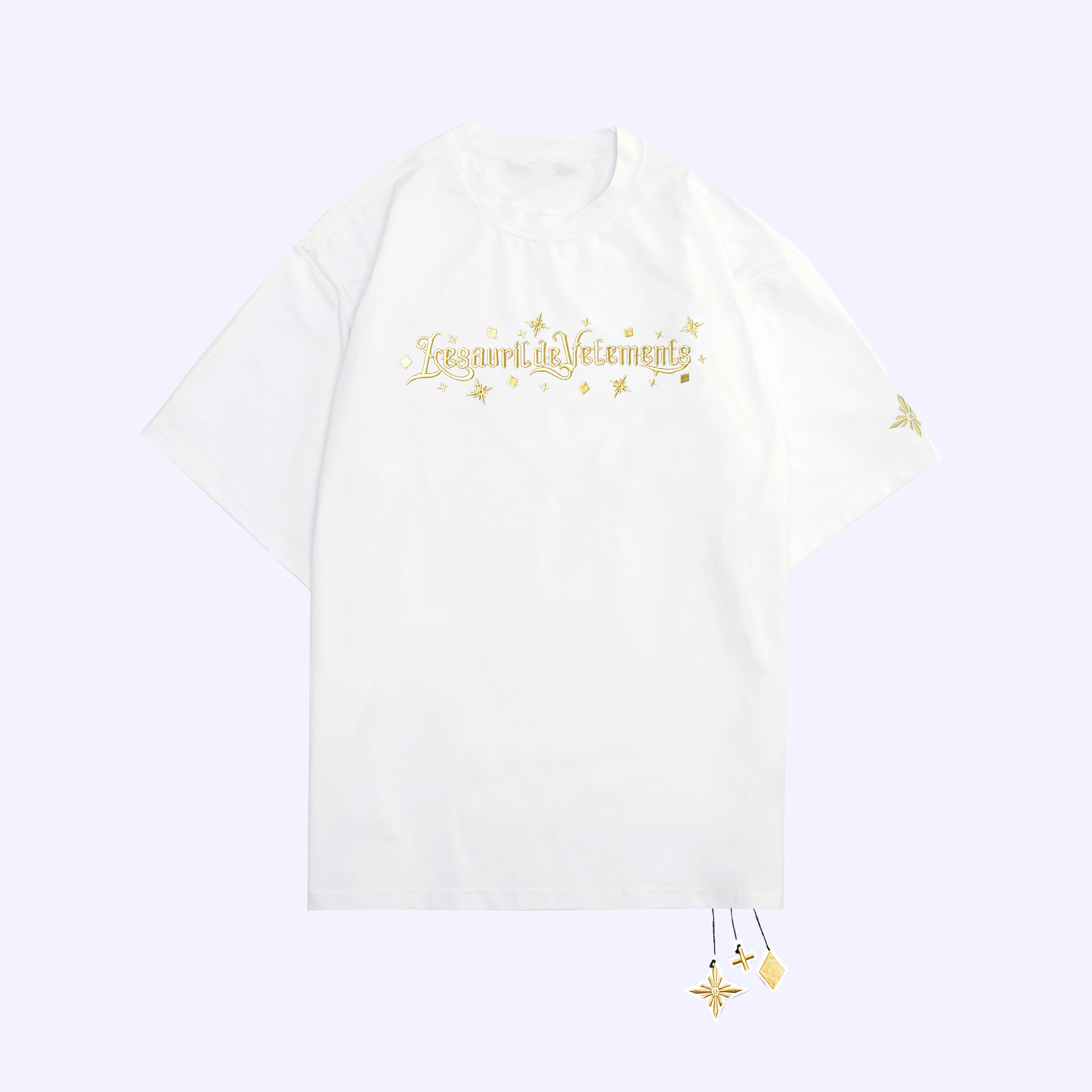 White Gold Twinkle T-Shirt