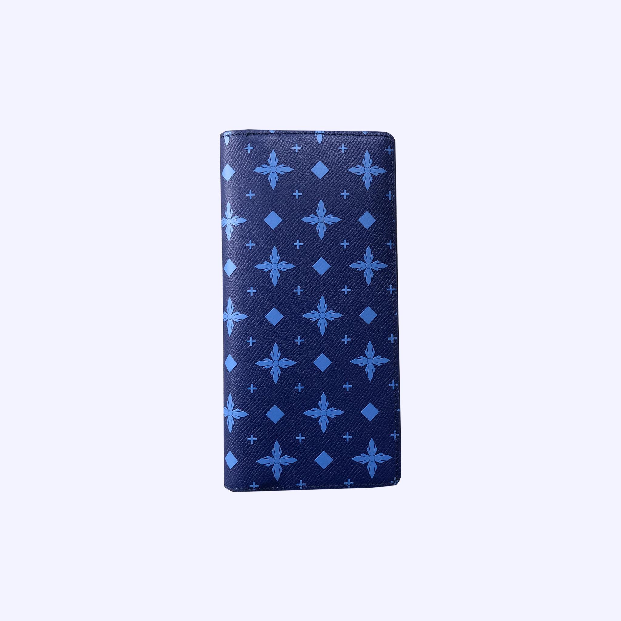 Blue LDV Monogram Long Wallet
