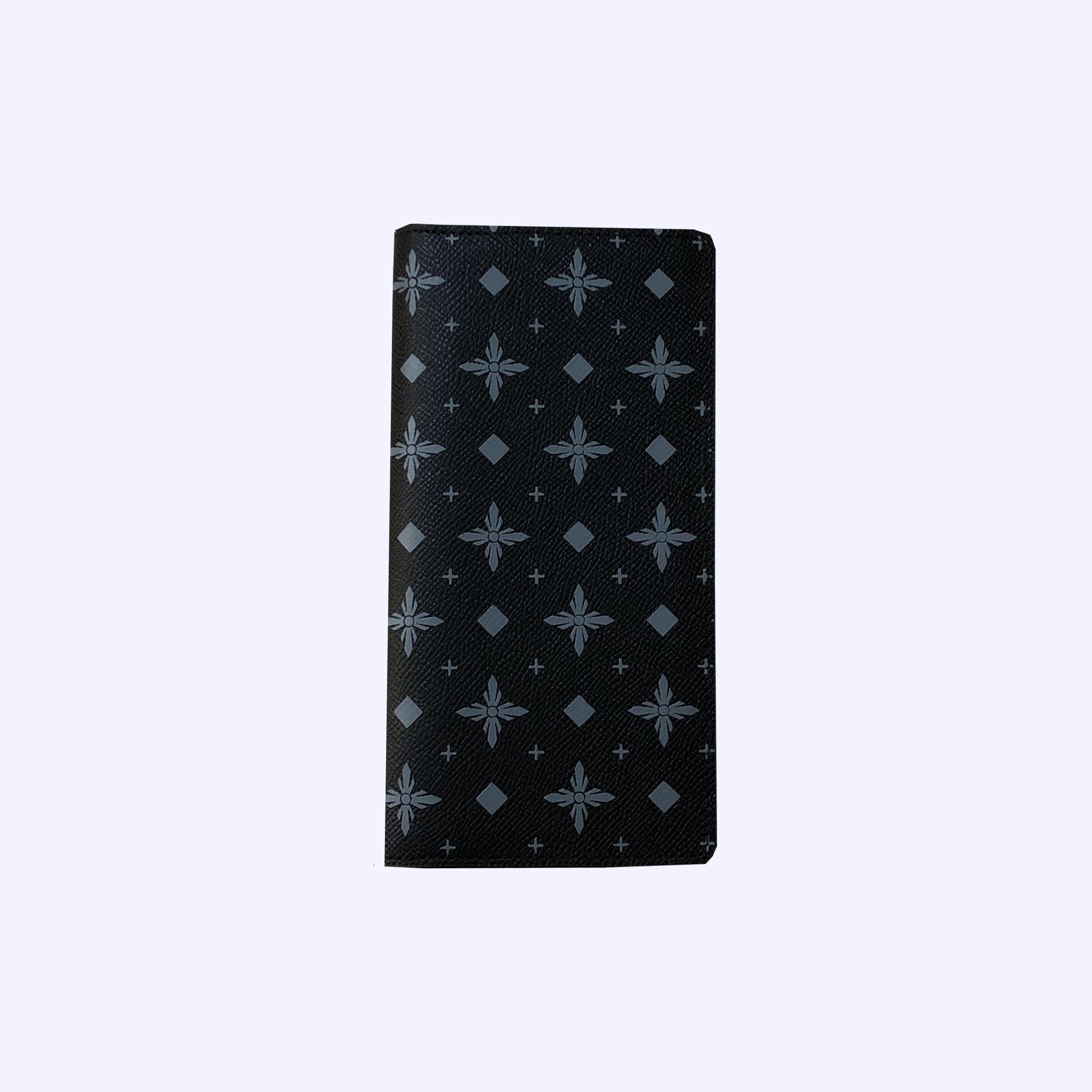 Charcoal LDV Monogram Long Wallet