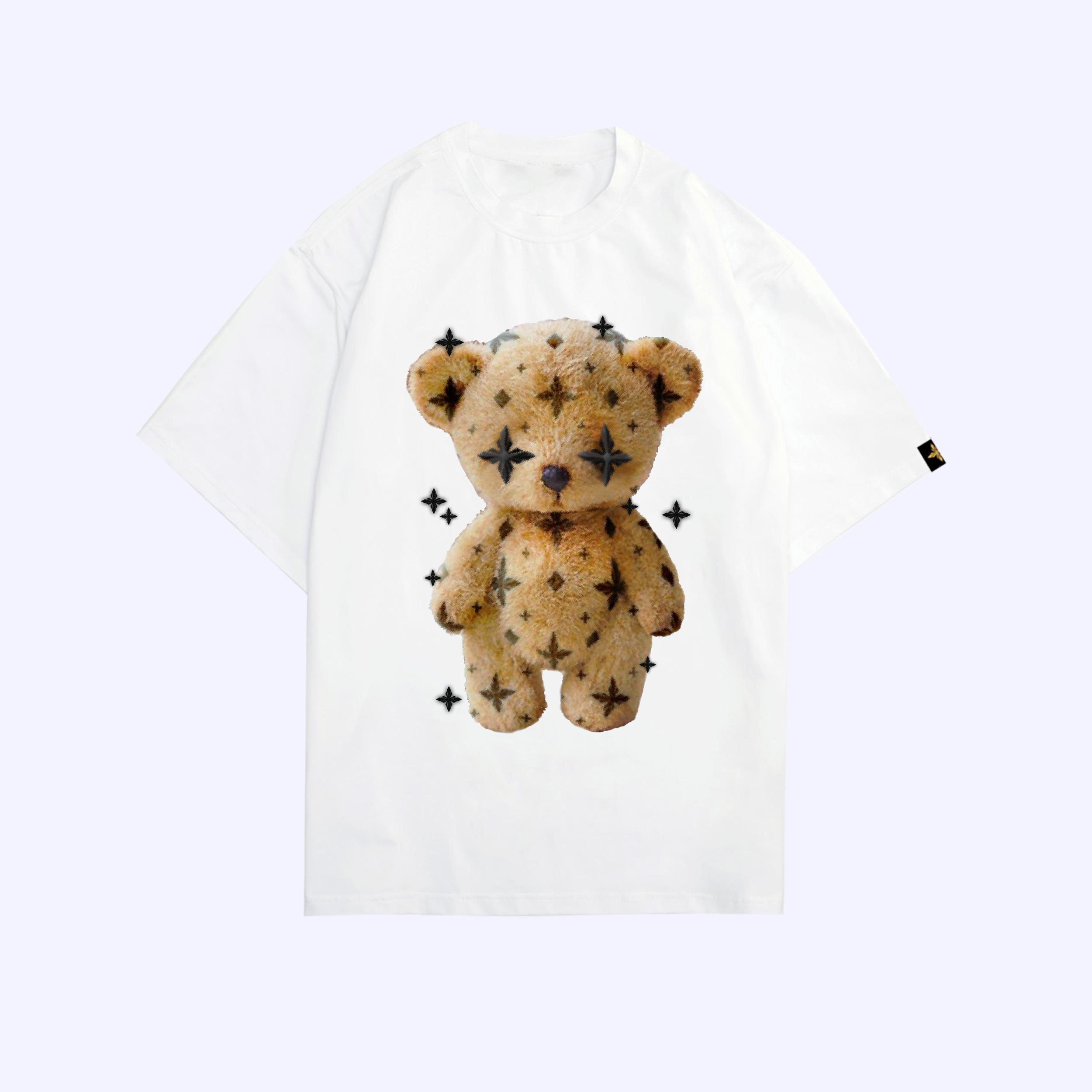 White LDV Teddy T-Shirt