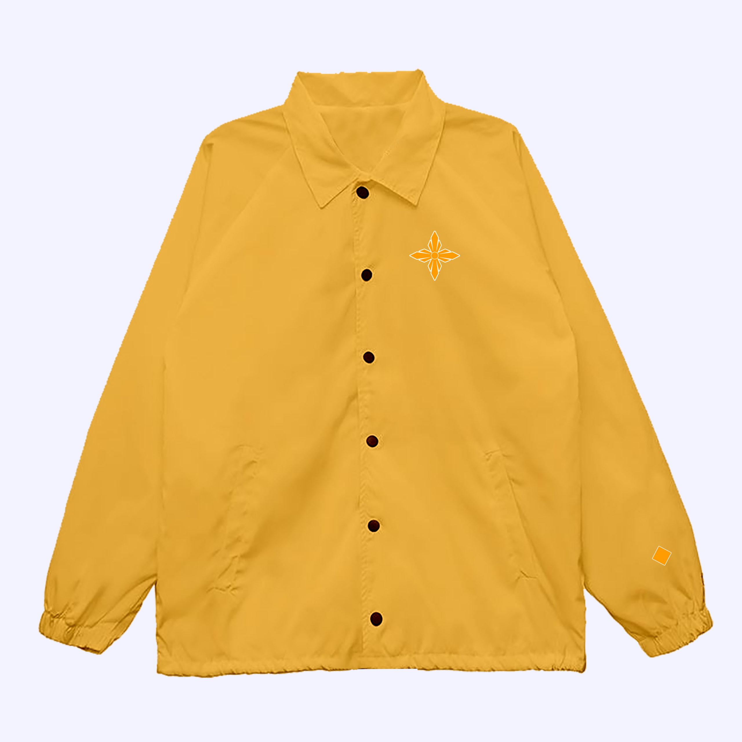 Tangerine Giant Brilliant Coach Jacket