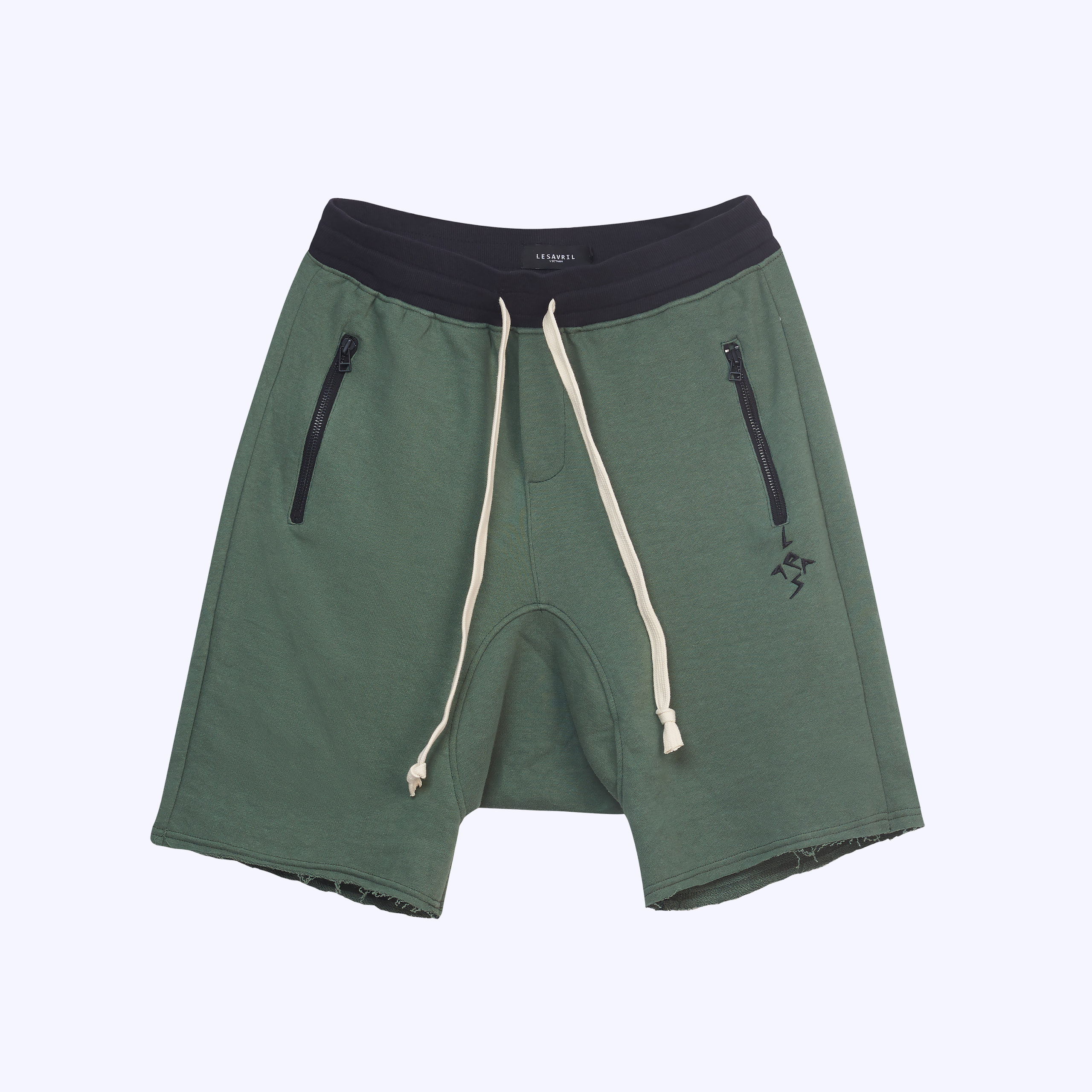 Moss Drop-crotch Short