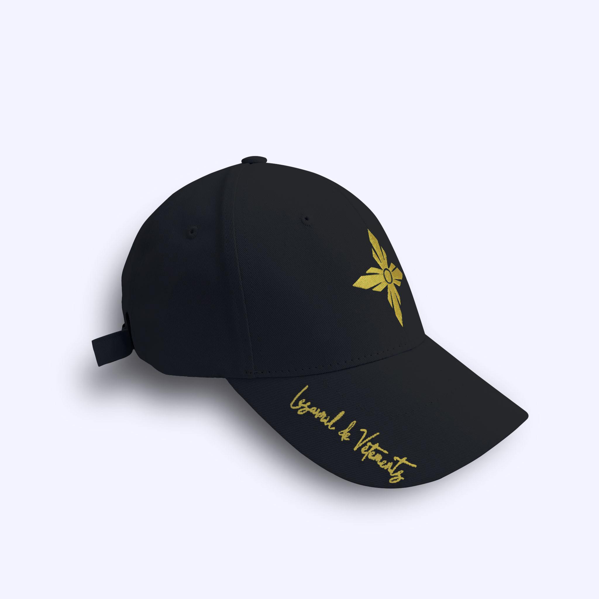 Black LDV Signature Cap