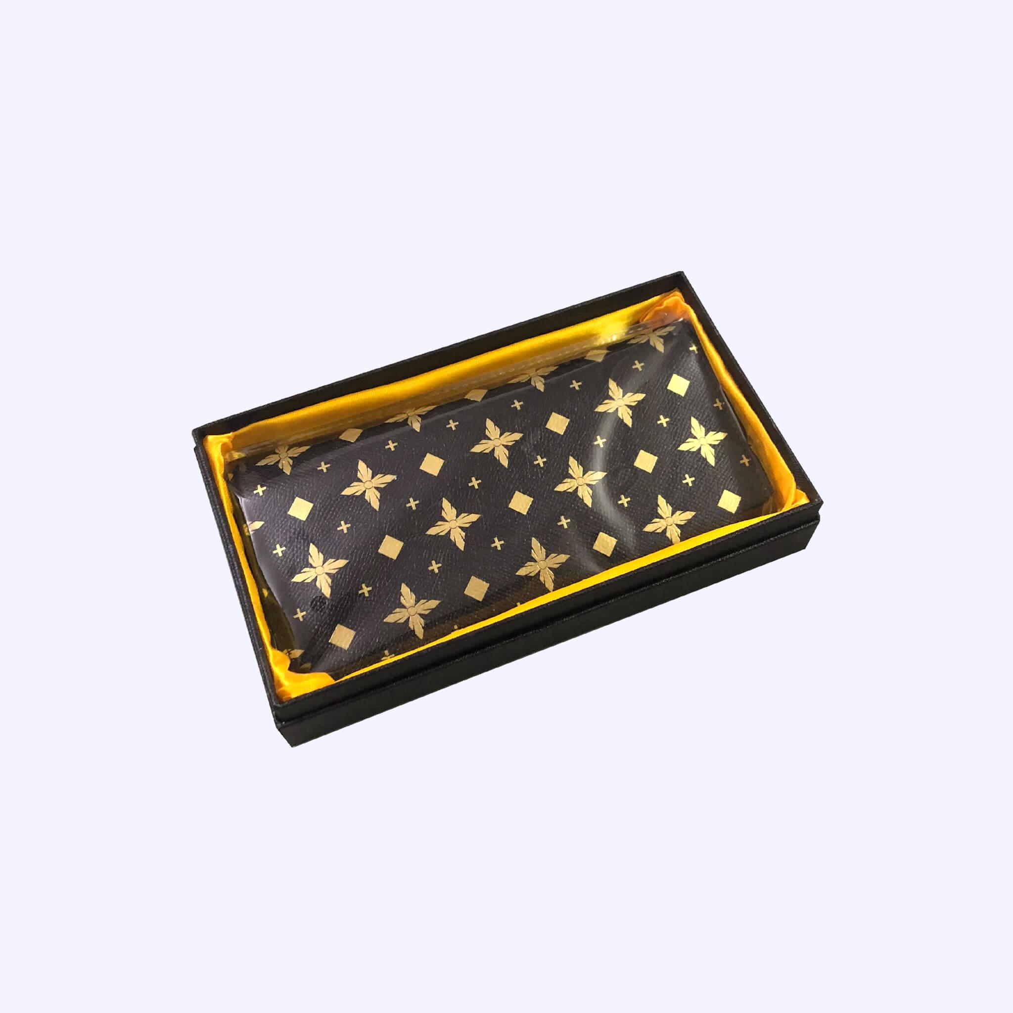 Black LDV Monogram Long Wallet