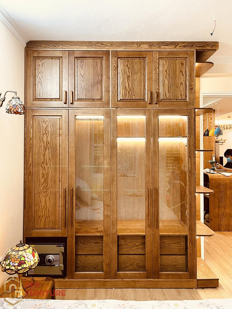 Vẻ đẹp thực tế nội thất từ gỗ tự nhiên