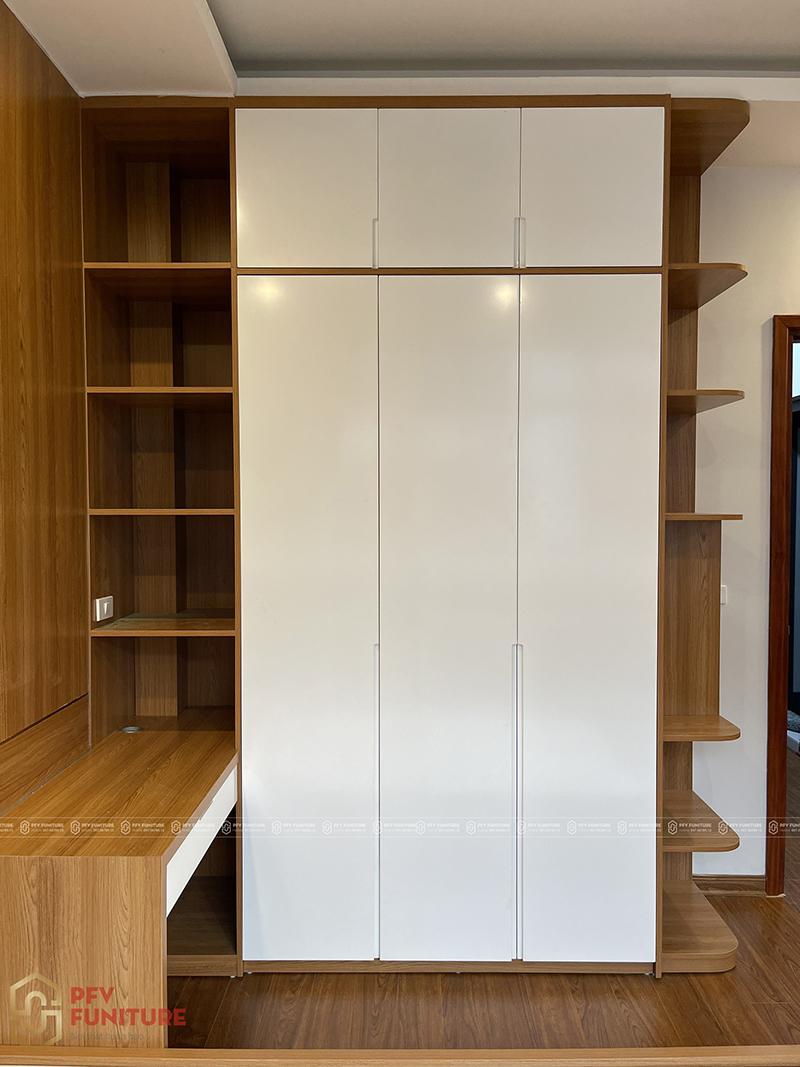 Hoàn thiện thi công nội thất phòng ngủ căn hộ