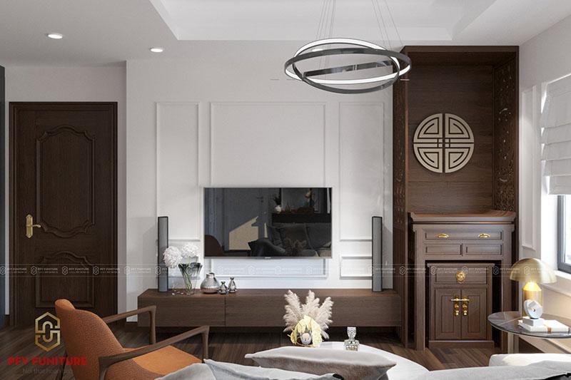 Nội thất căn hộ tiện nghi hiện đại phá bỏ giới hạn diện tích