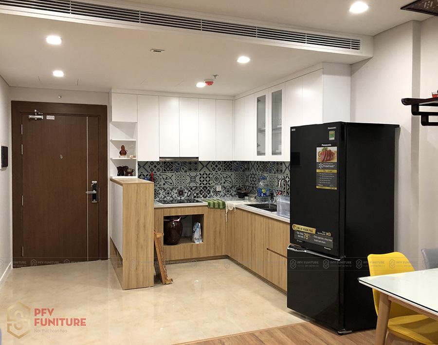 Hoàn thiện nội thất căn hộ 73m2 vừa đẹp vừa tiết kiệm