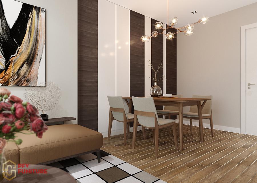 Thiết kế nội thất của căn hộ chung cư Vinhomes Green Bay