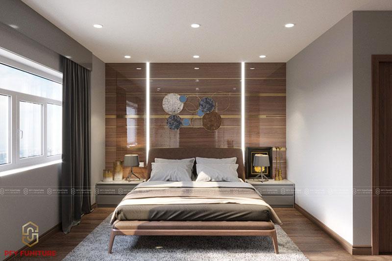 Si mê trong không gian nội thất phòng ngủ hiện đại