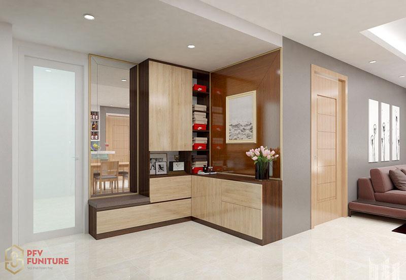 Thiết kế nội thất căn hộ Anh Thắng - Sun Square