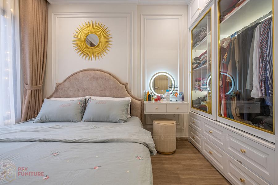 Thi công hoàn thiện căn hộ 1PN+1 S2.08 Vinhomes Ocean Park