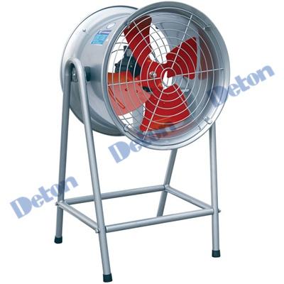 Quạt thông gió công nghiệp Deton DFG7G-4 điện áp 380V-4KW- sải cánh 70cm, có chân