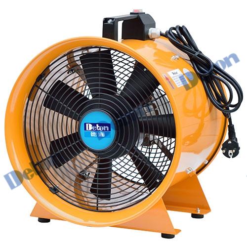 Quạt thông gió công nghiệp xách tay Deton DVT-50